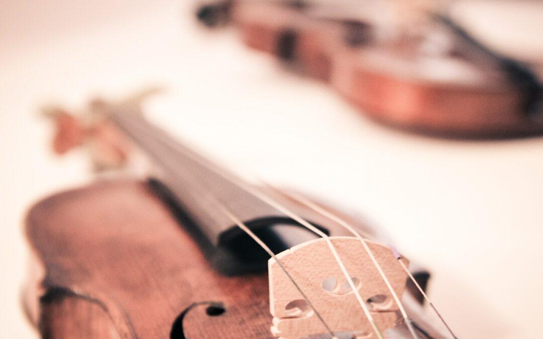 Szabadtéri hegedű koncert